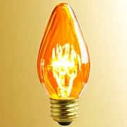 Amber Flame Light Bulb  - 40 Watt (item #R-010AR-L4044)