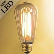 Vintage Style Tapered Medium Base LED Filament Bulb - 4W (item #R-010BR-776501)