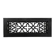 Cast Iron Victorian-Style Floor Register (item #R-010MG-195X)