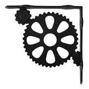 Industrial Style Cast-Iron Shelf Bracket - 8 3/4