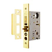 Heavy Duty Entrance Mortise Lock - Knob to Knob Function 2 3/4