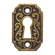 Joplin Keyhole Cover in Antique-by-Hand (item #R-01MG-198-ABH)
