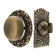 Roanoke Mechanical Doorbell in Antique-By-Hand Finish (item #R-06CH-1537-ABH)