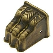 Small Brass Clawfoot Toe Cap in Antique-By-Hand (item #R-08BM-1375-ABH)