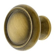 Forged Brass Dome Style Cabinet Knob - 1 1/4