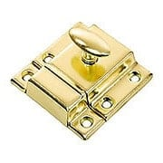 Large Stamped Steel Cabinet Latch With Plated Finish (item #R-08BM-1618X)
