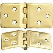 Pair of Sellers-Style Wraparound Hoosier Cabinet Hinges - 1 1/2