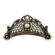 """3 13/16"""" Baroque Bin Pull With Choice of Finish (item #R-08CL-101077X)"""