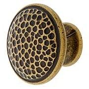 "Roycroft Cabinet Knob - 1 3/16"" Diameter (item #R-08CL-101520X)"