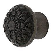 Cast Iron Fleur-de-Lis Knob with 1 1/4
