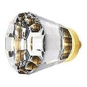 Medium Brookmont Crystal Cabinet Knob With Solid Brass Base (item #R-08EM-86397X)