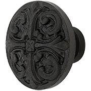 Gaios Cast-Iron Cabinet Knob - 1 5/8