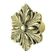 Opulent Flower Cabinet Knob - 1 5/8