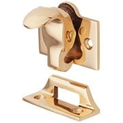Forged-Bronze Sash Lock and Lift (item #R-09BM-8709X)