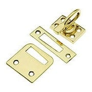 Solid Brass Casement Window Latch with Ring Handle (item #R-09BM-8712X)