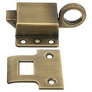 Solid Brass Transom Window Latch In Antique By Hand (item #R-09BM-8806-ABH)