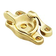 Traditional Solid Brass Sash Lock (item #R-09BM-8810X)