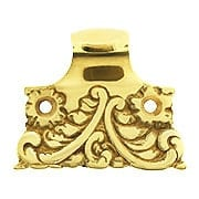 Roanoke Sash Lift in Unlacquered Brass (item #R-09CH-390308-031)