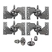 """Acme"" Cast Iron Mortise Shutter Hinges - 5 1/2"" x 3 1/8"" (item #R-09JW-376)"