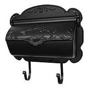 Hummingbird Design Cast-Aluminum Horizontal Mailbox (item #RS-010SL-SHB-1004X)