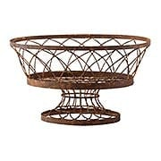 Large Oval Basket (item #RS-011AG-7830GR)