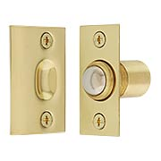 Solid Brass Square-Corner Ball Catch (item #RS-01AD-BC2X)