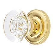 Colonial Rosette Door Set With Empire Door Knobs (item #RS-01BA-D07-K360A-MPRX)