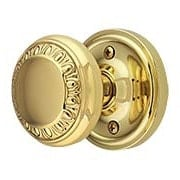 Classic Rosette Door Set with Ovolo Knobs (item #RS-01NW-CLAAEDX)