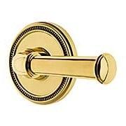 Grandeur Soleil Rosette Door Set with  Georgetown Levers (item #RS-01NW-SOLGEOX)