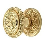 Maison Premium Rosette Door Set with Louis XVI Round Knobs (item #RS-01OM-260FLX)