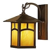 Evergreen Single Sconce In Bronze Finish (item #RS-03AC-EB-7AX)