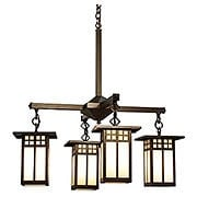 Glasgow 4 Light Chandelier In Bronze Finish (item #RS-03AC-GCH-6L-4X)