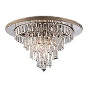 Illusion 4-Light Semi-Flush Ceiling Fixture in Silver Leaf (item #RS-03CO-170-34X)
