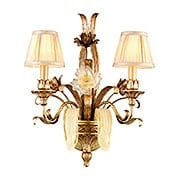 Tivoli Two Light Wall Sconce in Silver (item #RS-03CO-49-12X)