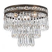 Mercer 3-Light Flush Mount Ceiling Light (item #RS-03CR-5260X)