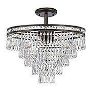 Mercer 6-Light Semi-Flush Ceiling Light (item #RS-03CR-5264CX)