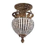 Roosevelt 1-Light Semi-Flush Ceiling Light (item #RS-03CR-6720-WP)