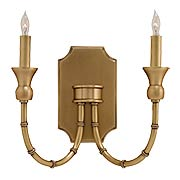 Imperial Bamboo 2-Light Wall Sconce (item #RS-03CU-5218)