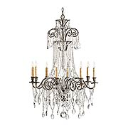 Lillian 8-Light Chandelier (item #RS-03CU-9051)