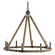 Bowline 8-Light Chandelier (item #RS-03CU-9536)