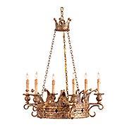 Crown 6-Light Chandelier (item #RS-03CU-9547)