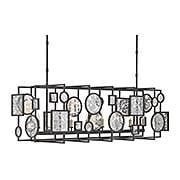 Gallerist Rectangular Chandelier (item #RS-03CU-9640)