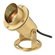 Solid-Brass 50W  MR16 Submersible Pond Light (item #RS-03HK-1539BS)