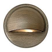 Hardy Island Round Cast-Brass Eyebrow Deck Sconce (item #RS-03HK-16801MZX)