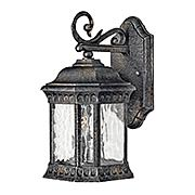 Regal Small Exterior Wall Sconce (item #RS-03HK-1720BG)