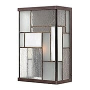 Mondrian Exterior Wall Light In Buckeye Bronze (item #RS-03HK-2150KZ)