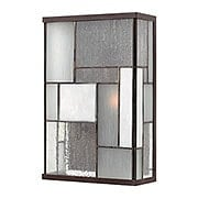Mondrian Large Exterior Wall Light In Buckeye Bronze (item #RS-03HK-2154KZ)