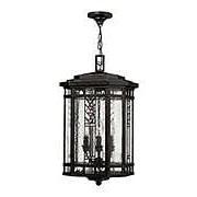 Tahoe Hanging Porch Lantern in Regency Bronze (item #RS-03HK-2242RB)