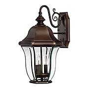 Monticello Large Entry Light In Copper Bronze (item #RS-03HK-2334CB)