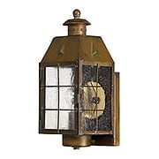 Nantucket Porch Light With Clear Seedy Glass (item #RS-03HK-2370AS)